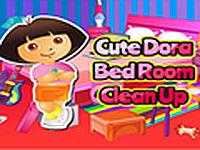 Cute Dora Bedroom Cleanup