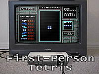 First-Person Tetris