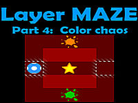 Layer Maze. Part 4: Color chaos